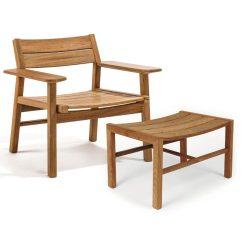 Skargaarden Djurö Lounge Chair & Stool