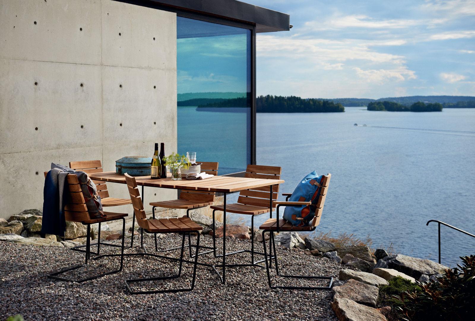 Skargaarden Grinda Stuhl und Tisch