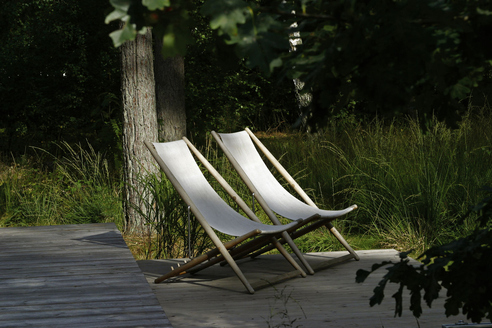 Skargaarden H55 Deck Chair - Indoor
