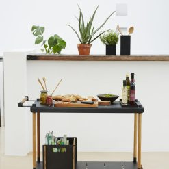 Cane Line Frame Tea Cart