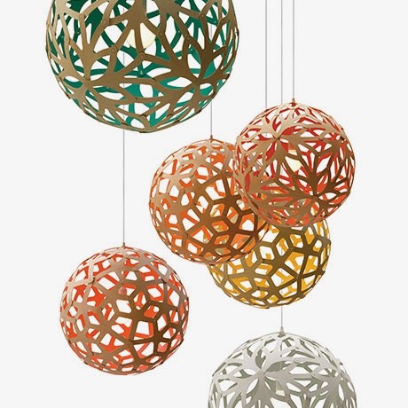 David Trubridge - Coral & Floral Pendant