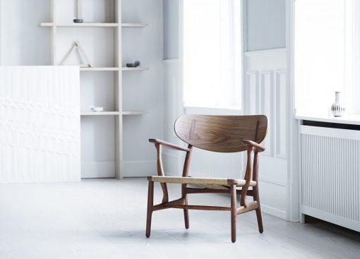 Carl Hansen CH22 Lounge Sessel