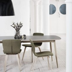 Haslev Symphony Dining Table - Laminate | Linoleum