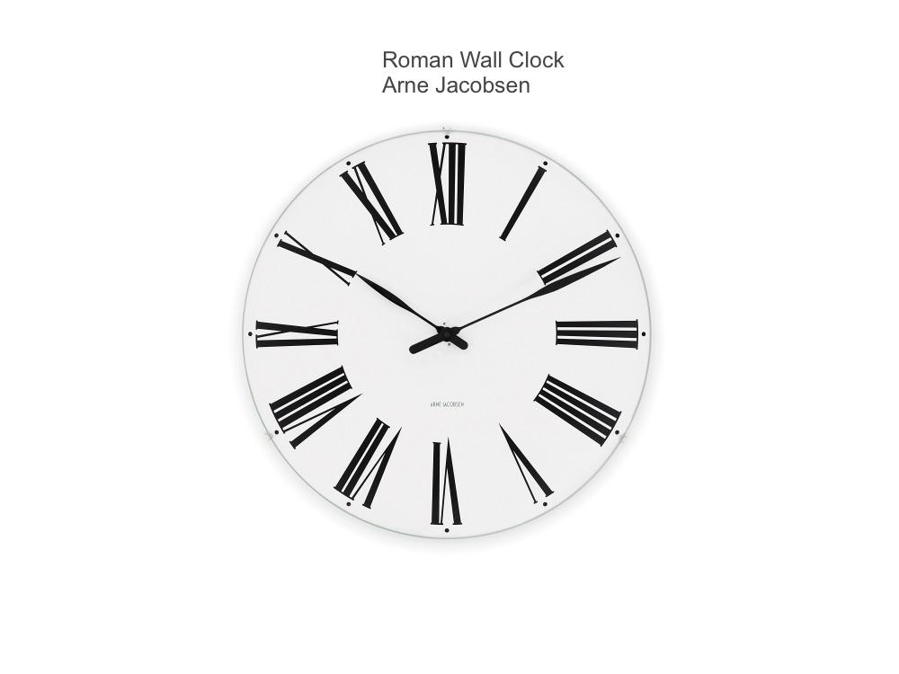 rosendahl arne jacobsen wall clock nordic urban gmbh. Black Bedroom Furniture Sets. Home Design Ideas