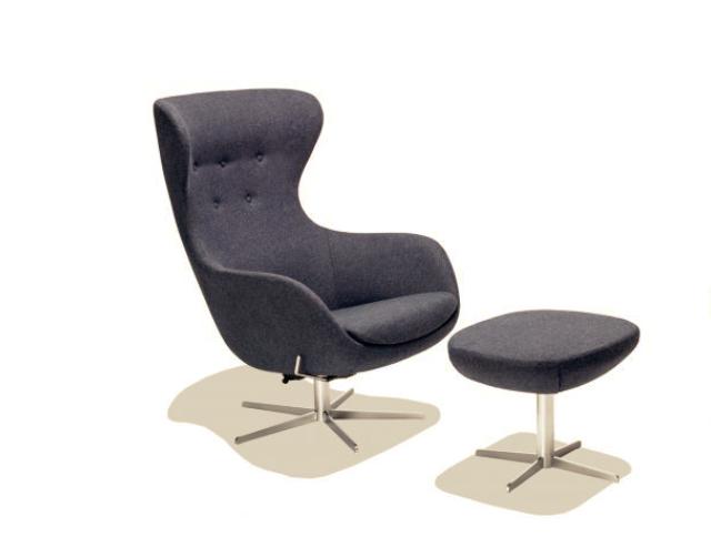 s ren lund sl407 sessel und hocker nordic urban gmbh. Black Bedroom Furniture Sets. Home Design Ideas