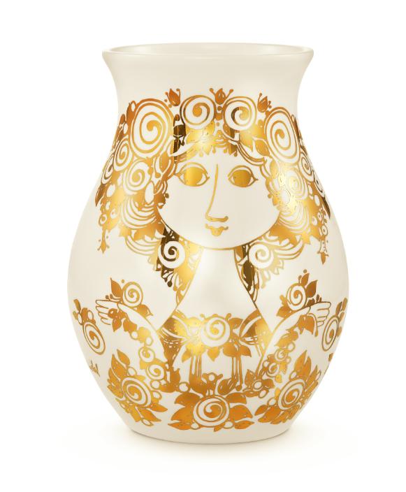 Vase Rosalinde, gold, H26cm