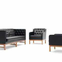 Erik Jørgensen EJ315 Couch and Armchair