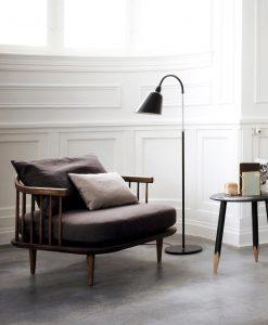 Fly Chair SC1 und Hocker von &Tradition - Ausstellungsmodell