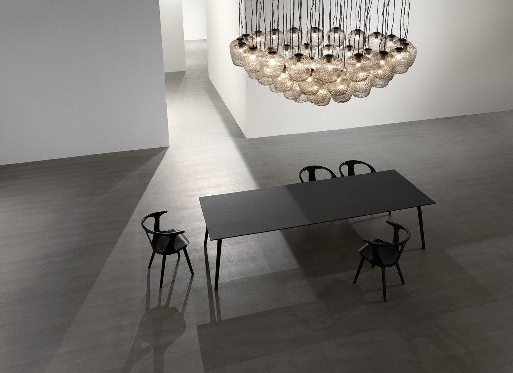 In Between Tisch und 6 Stühle von &Tradition - Angebot