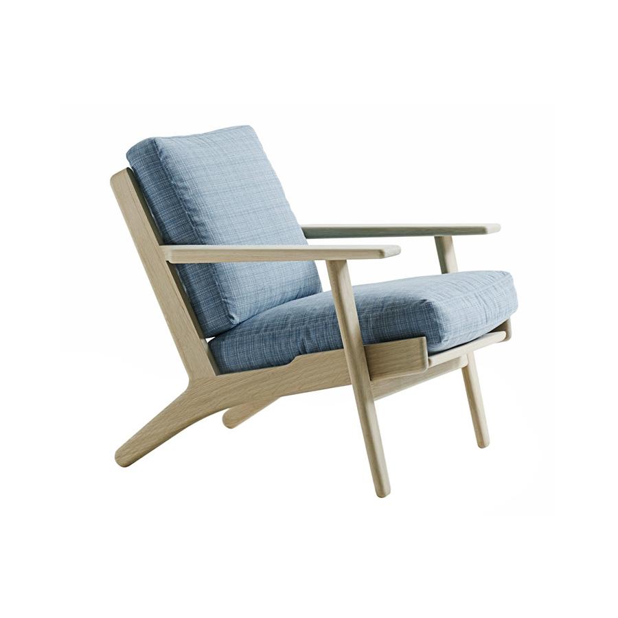 Getama – Sessel 290 von Hans J. Wegner
