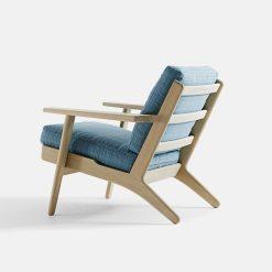 Getama - Classic Easy Chair 290 by Hans J. Wegner