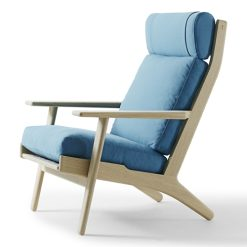 Getama - High Easy Chair 290A by Hans J. Wegner