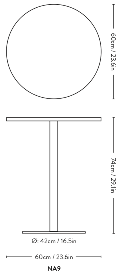 &Tradition Nærvær - Table Serie