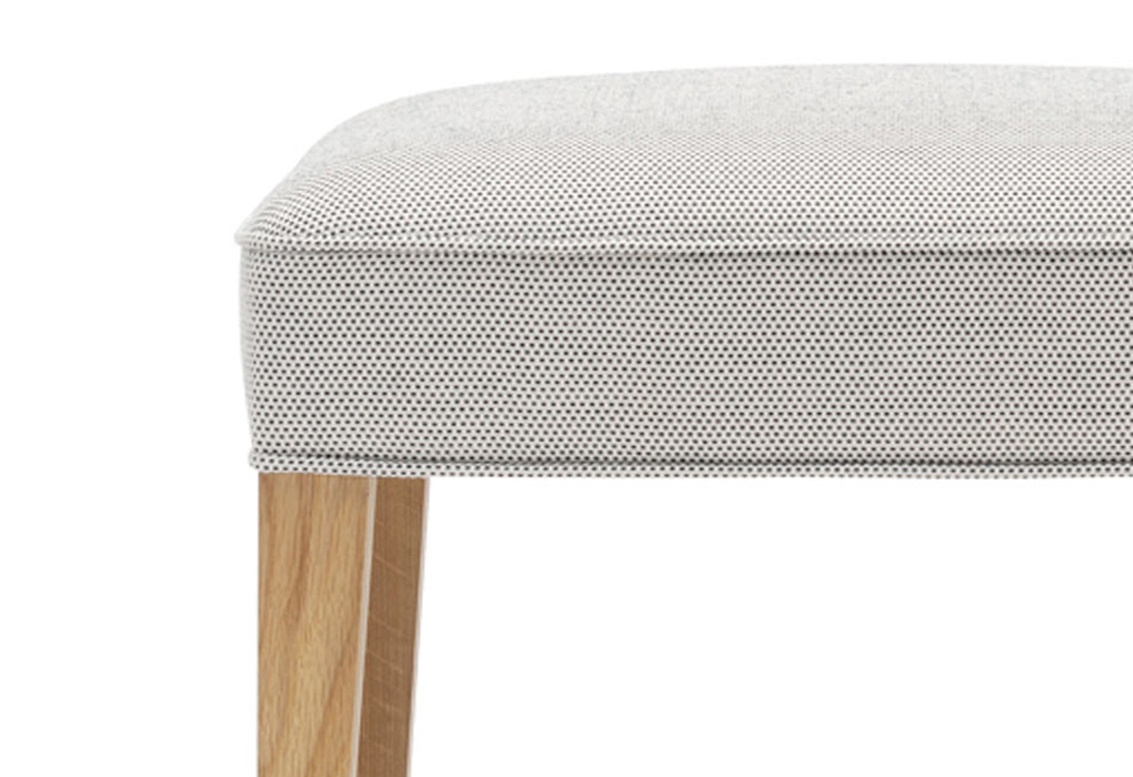 Heritage Chair footstool by fritz henningsen and carl hansen and son