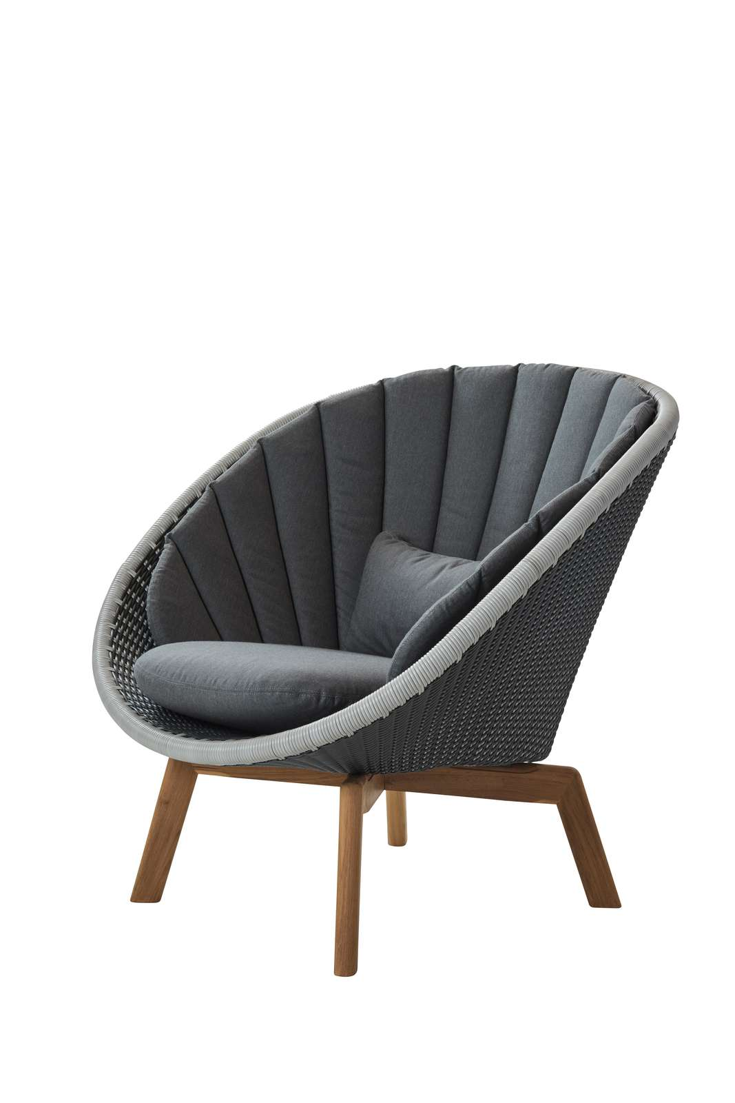 Pleasing Cane Line Peacock Outdoor Lounge Chair Andrewgaddart Wooden Chair Designs For Living Room Andrewgaddartcom