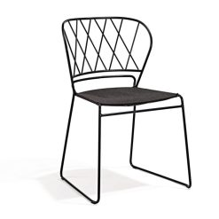 Skargaarden Resö Esstischstuhl mit Stoffsitz