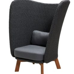 Cane-Line - Peacock Wing Highback Lounge Chair