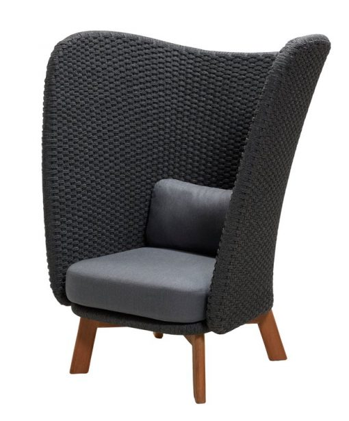 Cane-Line – Peacock Wing Highback Lounge Chair