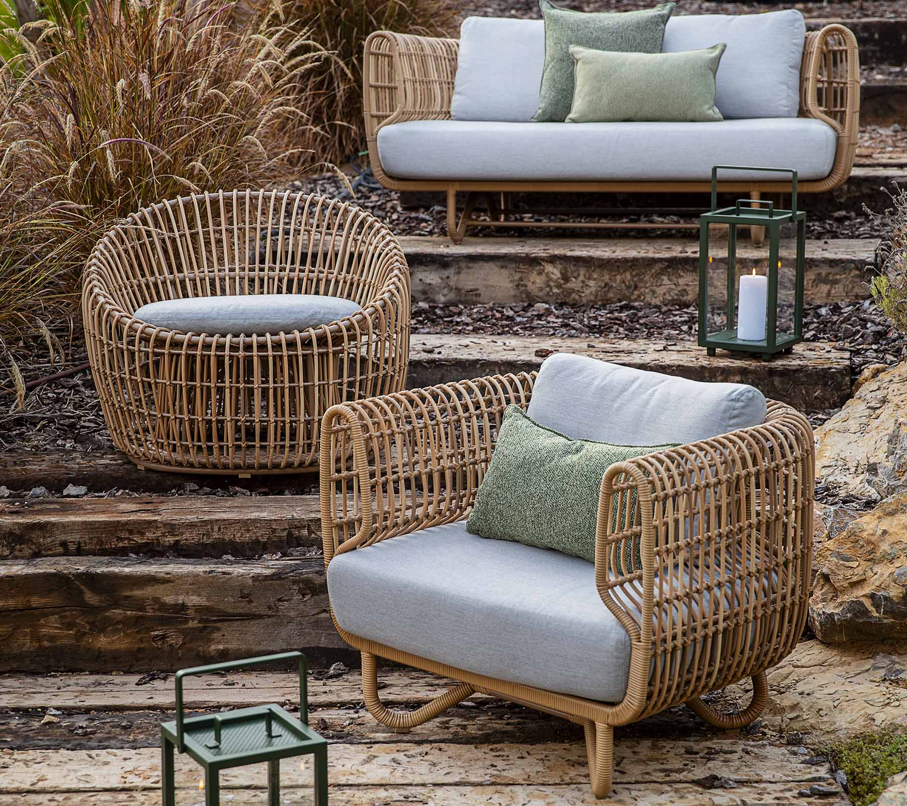 Nest Round Lounge Chair Outdoor, Round Lounge Chair Outdoor Cushions